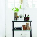 desserte metal verre design vintage epure minimaliste house doctor trolley Br0153