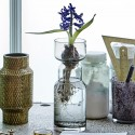 Vase métal doré aluminium House Doctor Cast H 16 cm