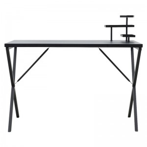 house doctor desk table de bureau design epure metal noir Pj0300