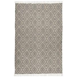 Tapis beige gris motif imprimé classique IB Laursen 120 x 180 cm