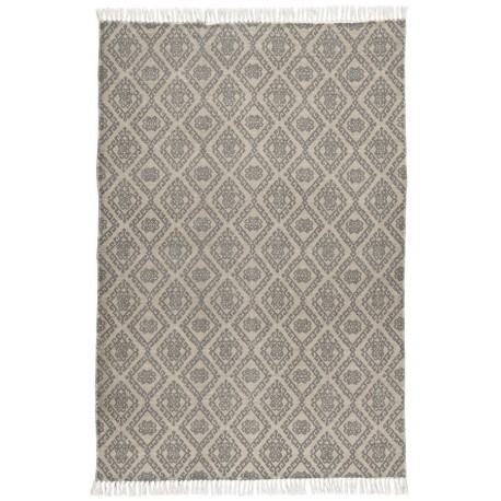 ib laursen tapis beige gris motif imprime classique vintage 120 x 180 cm
