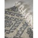Tapis long gris beige motif classique IB Laursen 60 x 180 cm
