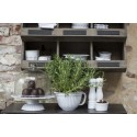 rangement mural 9 casiers bois vintage brocante ib laursen 5247-14