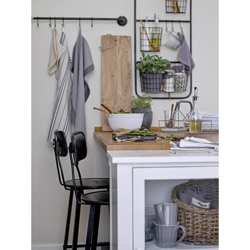 rangement mural cuisine paniers suspendus m tal grillage vintage ib laursen. Black Bedroom Furniture Sets. Home Design Ideas