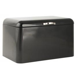 Boîte à pain métal noir IB Laursen