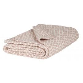 Couverture couvre-lit coton matelassé sorbet IB Laursen 130 x 180 cm