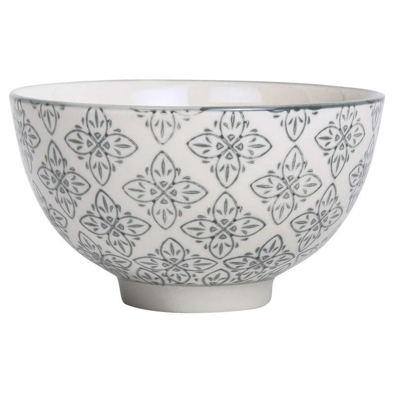 Ib laursen coupelle motif floral oriental gris casablanca 1566 18 - Motif oriental a imprimer ...