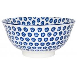 coupelle en gres petites fleurs bleues ib laursen liva blue 2472-13