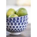 Coupelle en porcelaine petites fleurs bleues IB Laursen Liva Blue