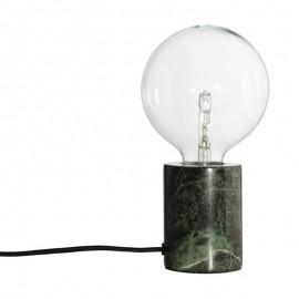 Lampe à poser douille marbre vert Frandsen Bristol