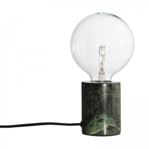 lampe a poser douille marbre vert frandsen bristol