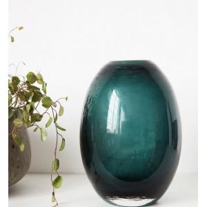 vase house doctor ball bleu vert Ds0541