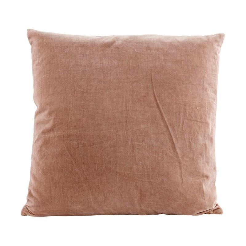housse de coussin velours rose pastel 50 x 50 cm house doctor velv ab1300. Black Bedroom Furniture Sets. Home Design Ideas