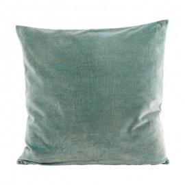 housse de coussin house doctor velours 50 x 50 cm Ab1303 vert d eau tendre