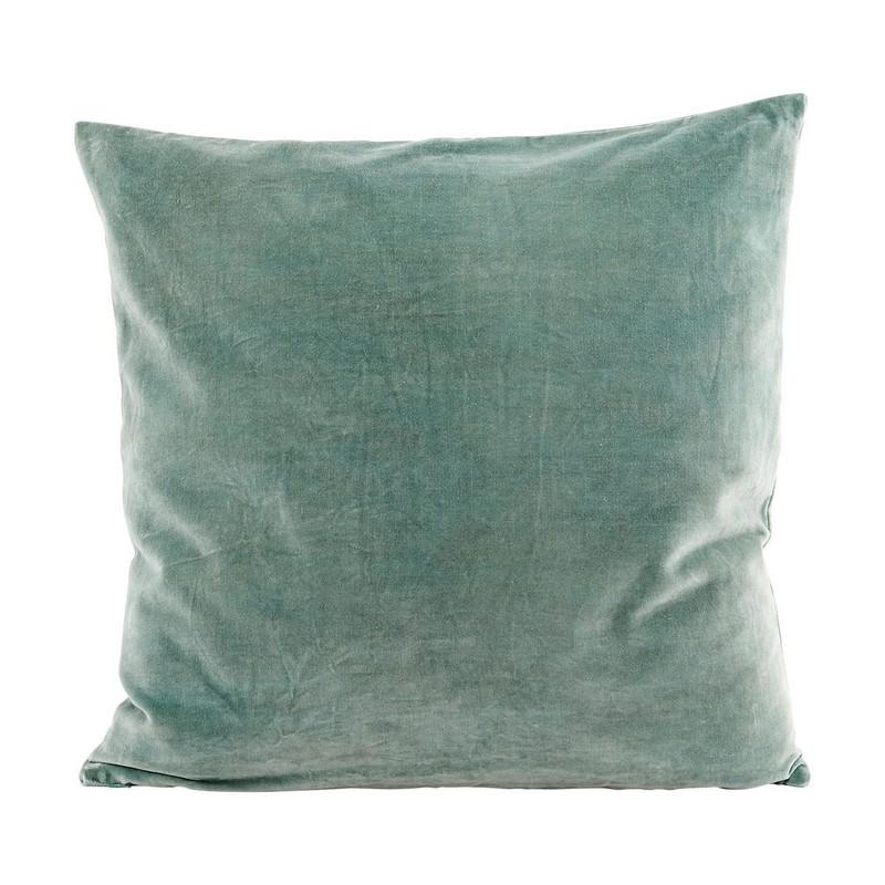 coussin vert d eau housse de coussin house doctor velours 50 x 50 cm Ab1303 vert d  coussin vert d eau
