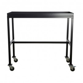 house doctor rolling table desserte a roulettes metal noir Ha1000