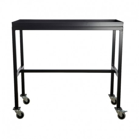 house doctor rolling table desserte a roulettes metal noir ha1000. Black Bedroom Furniture Sets. Home Design Ideas