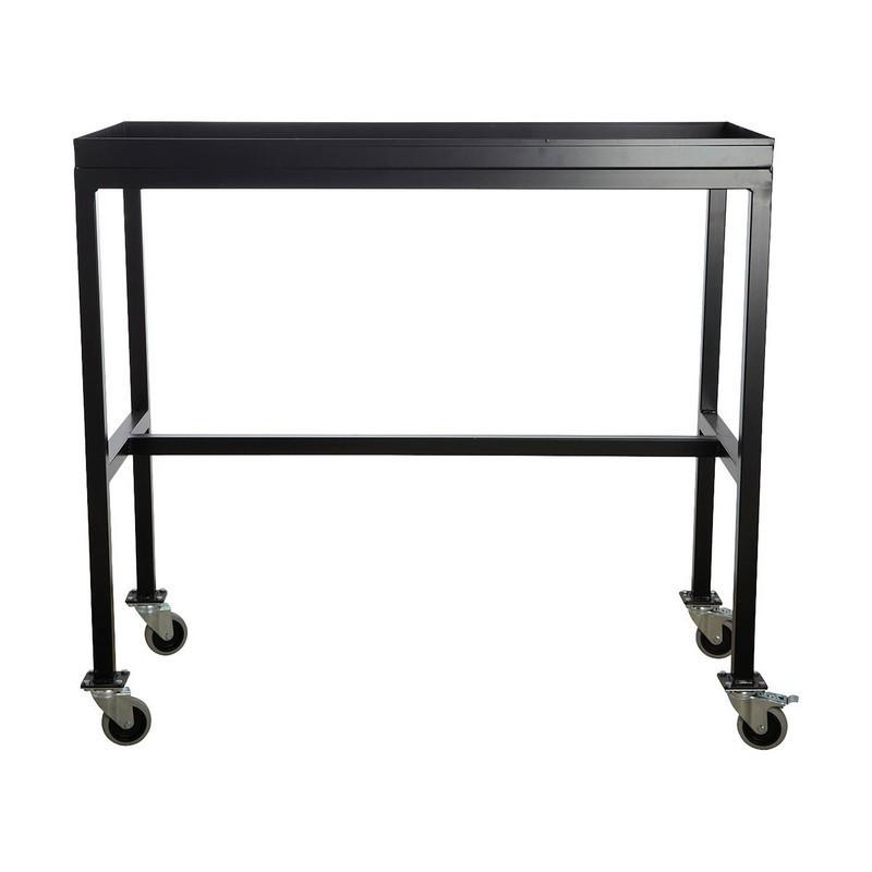 house doctor rolling table desserte a roulettes metal noir ha1000. Black Bedroom Furniture Sets. Home Design Ideas