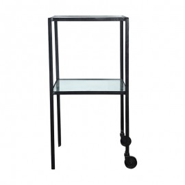 Table d'appoint métal style rétro industriel House Doctor Trolley