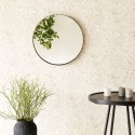 miroir rond laiton antique house doctor reflection Fk0203