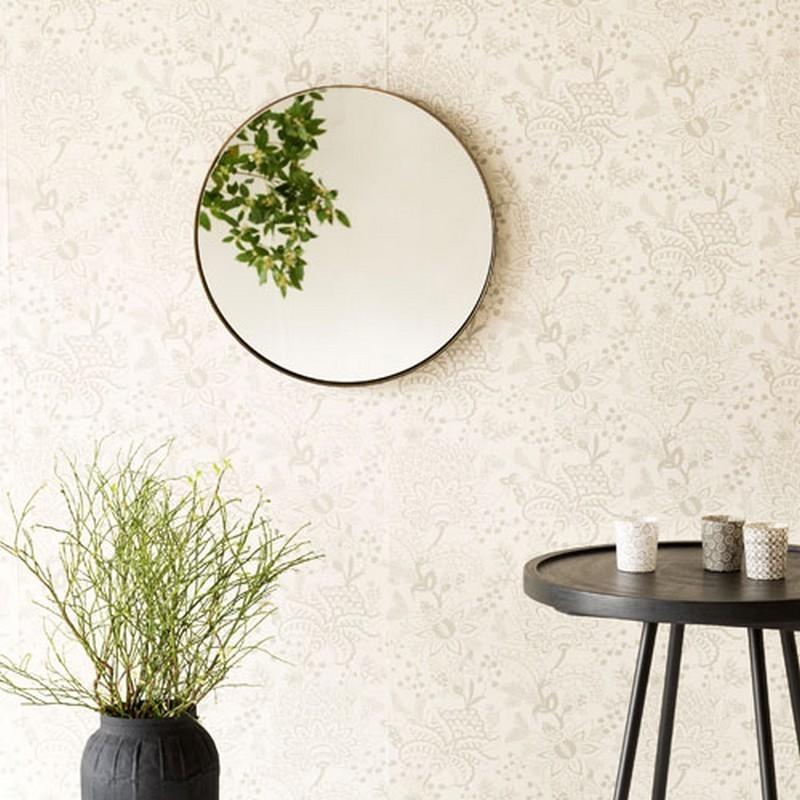 miroir rond laiton antique house doctor reflection fk0203. Black Bedroom Furniture Sets. Home Design Ideas