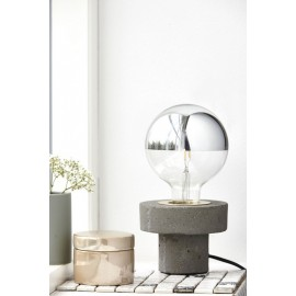 lampe a poser epuree beton house doctor Cl0950