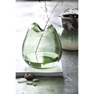 Vase House Doctor Wave verre H 16 cm
