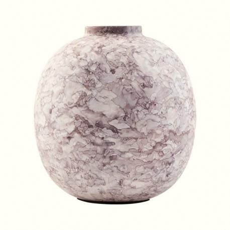 Vase rond métal brun House Doctor Effect