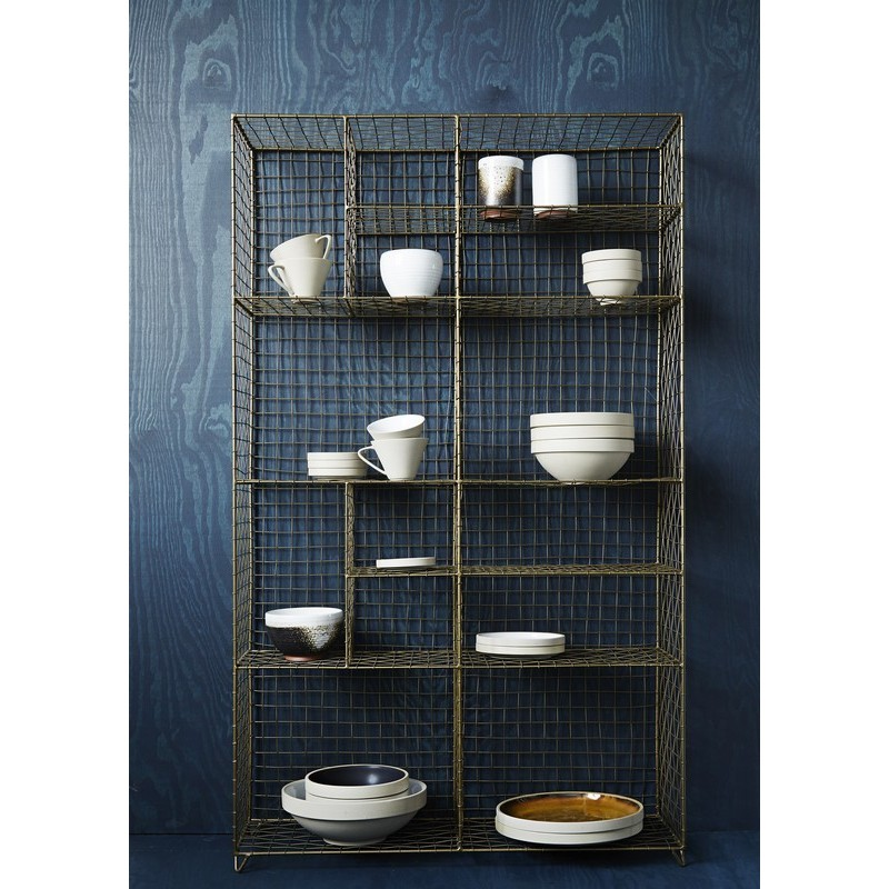 etagere a poser metal grillage cuivre antique madame stoltz 16849ac. Black Bedroom Furniture Sets. Home Design Ideas