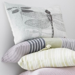 COUSSIN BEIGE DESIGN DRAGONFLY