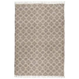 tapis ib laursen beige marron 120 x 180 cm 6841-00