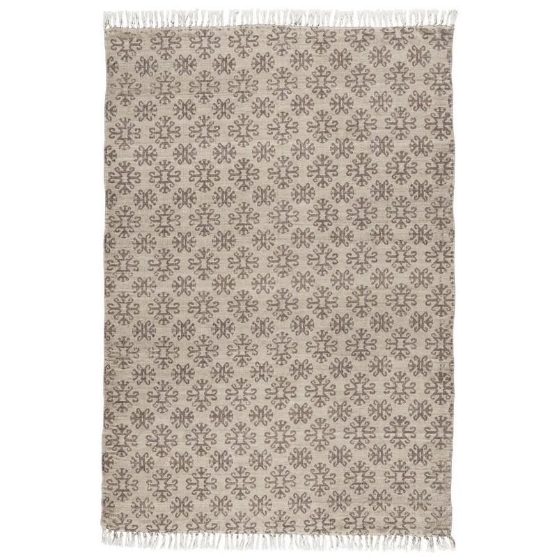 tapis ib laursen beige marron 120 x 180 cm 6841 00. Black Bedroom Furniture Sets. Home Design Ideas