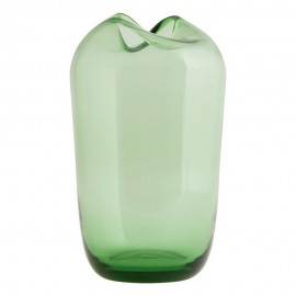 vase design verre vert house doctor wave Be0911