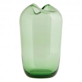 Vase House Doctor Wave grün Rauchglas