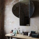 miroir mural deco retro house doctor mushroom Sc0500