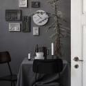 Horloge murale béton laiton House Doctor Concrete