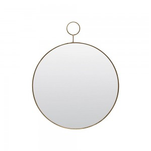house doctor Pm0151 miroir rond mural rond laiton