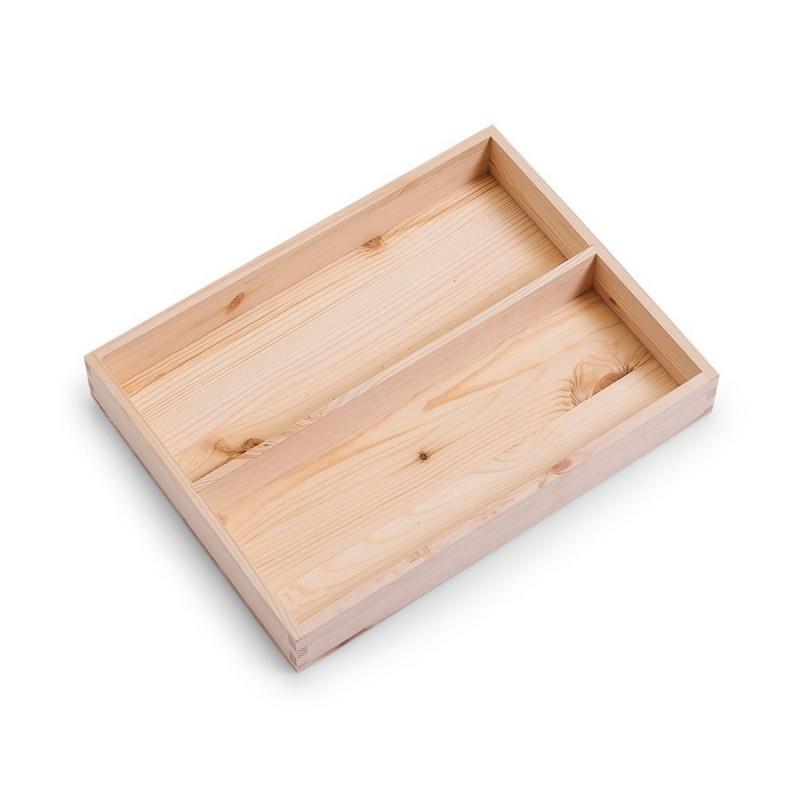 boite de rangement en bois avec compartiments zeller 13321. Black Bedroom Furniture Sets. Home Design Ideas