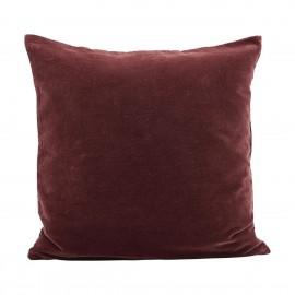 Housse de coussin velours rouge henné brûlé House Doctor Velv 50 x 50 cm