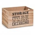 caisse de rangement bois vintage zeller 15123 storage