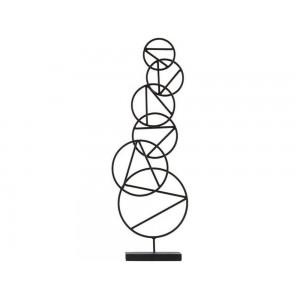 sculpture en metal house doctor rings Nd0107