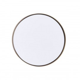 Miroir mural rond laiton antique House Doctor Reflektion D 30 cm