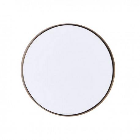 miroir mural rond laiton antique house doctor reflektion Fk0202