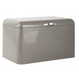 Boîte à pain rétro métal gris IB Laursen