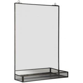 Miroir étagère vintage métal IB Laursen