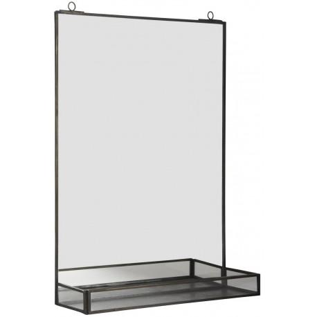 miroir etagere vintage metal ib laursen 9672-25