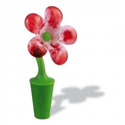 BOUCHON PLASTIQUE BOUTEILLE DE VIN EMILY rouge