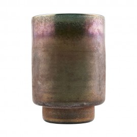 Vase verre couleur henné House Doctor Planter Forrest
