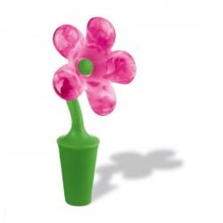 Bouchon plastique pour bouteille koziol emily rose