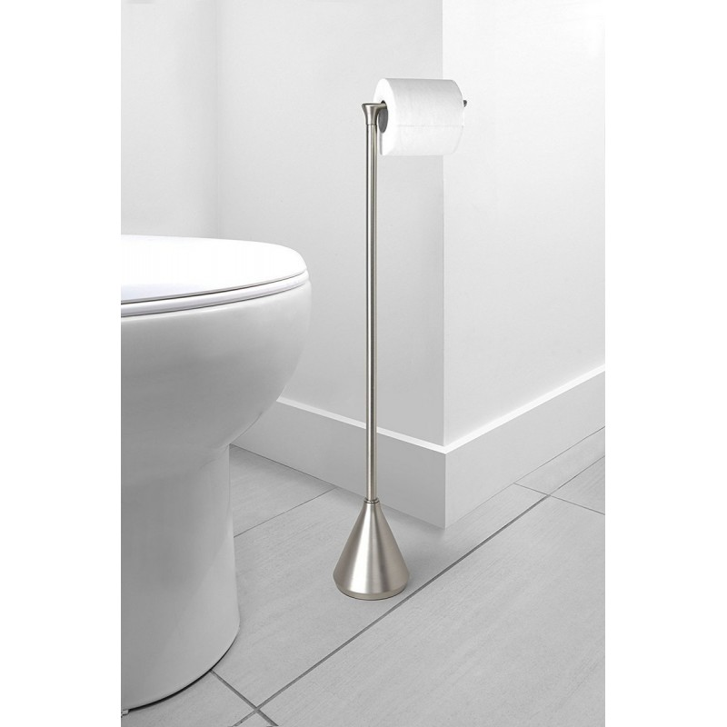 Porte papier toilette design a poser metal umbra pinnacle for Porte toilette
